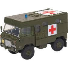 Oxford #76LRFCA002 1/76 Land Rover FC Ambulance Nato Green