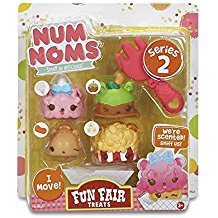 NUM NOMS SERIES 2 FUN FAIR TREATS 4PCS