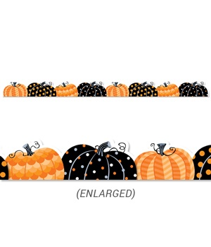CTP 8405 PUMPKIN PATCH BORDER