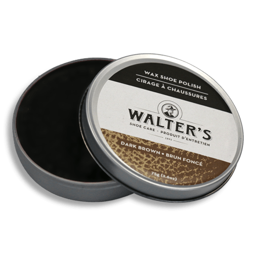 WALTER'S SHOE CARE - BROWN WAX POLISH