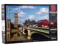 3D PUZZLE LONDON 500 PCS