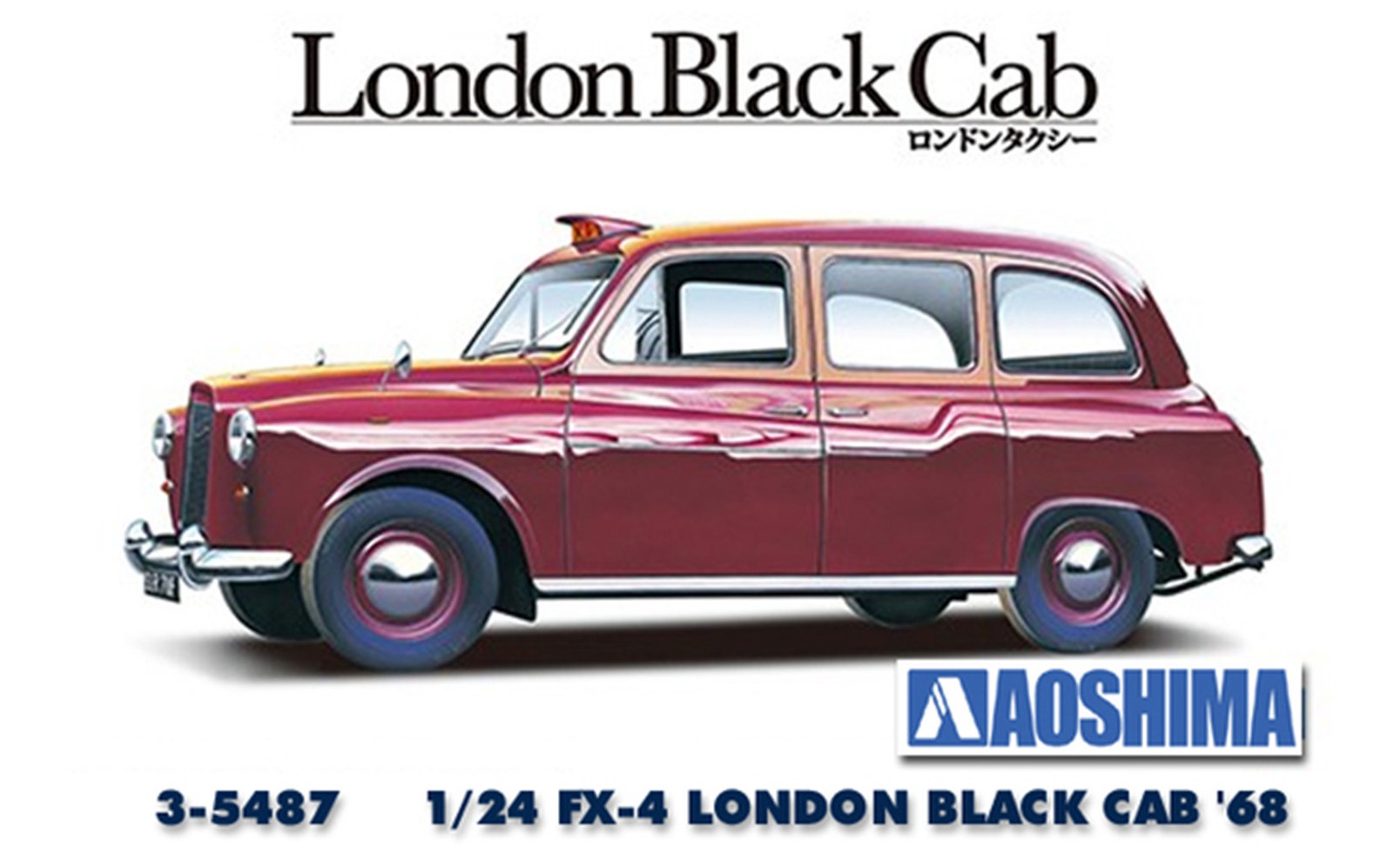 Aoshima #5487 1/24London Black Cab