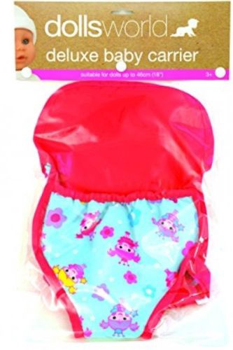 DOLL'S WORLD DELUXE BABY CARRIER