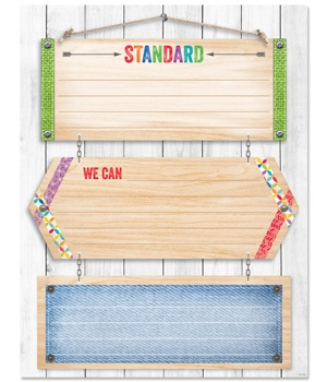 CTP 5250 UPCYCLE LEARNING STANDARDS CHART