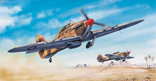 Trumpeter #2416 1/24 Hawker Hurricane Mk.II C/TROP