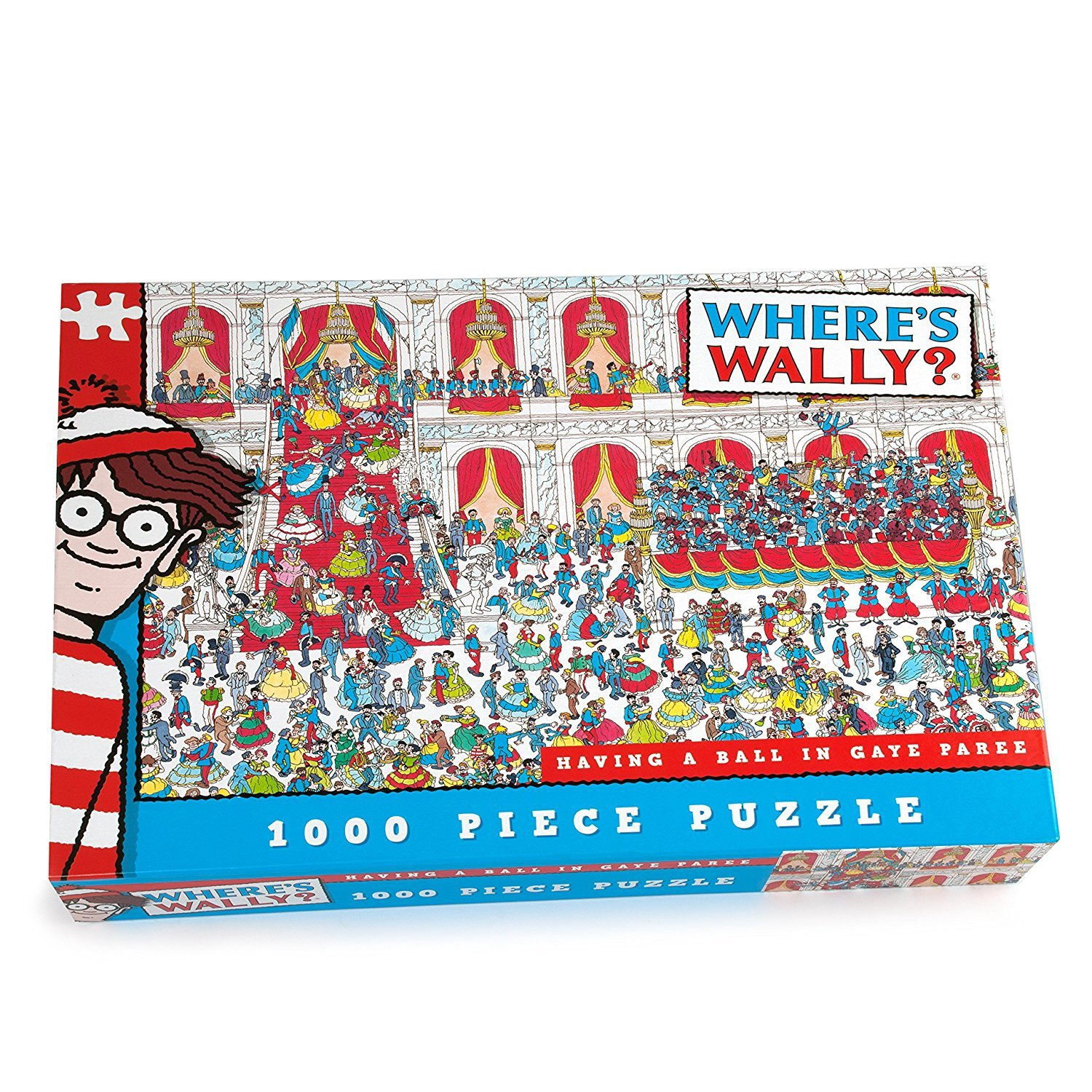 WHERE'S WALLY 1000 PCS