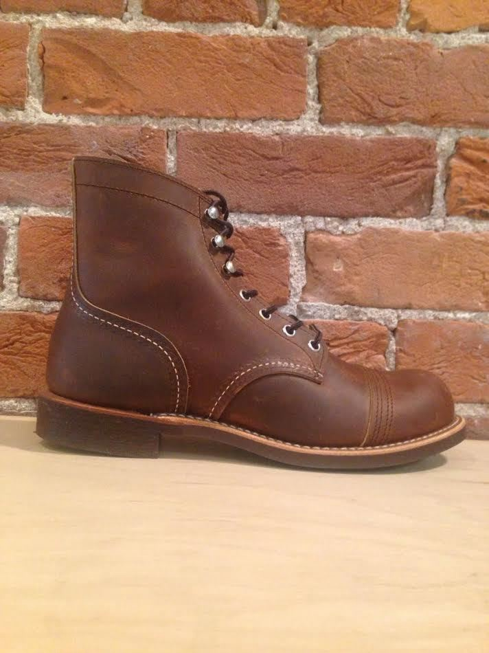 RED WING - MEN'S IRON RANGER IN COPPER ROUGH AND TOUGH LEATHER