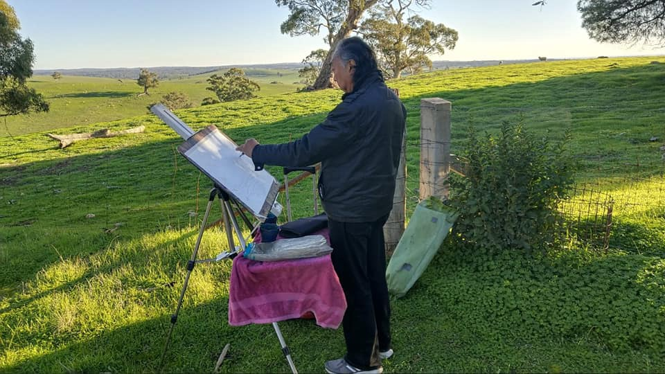 Plein Air Watercolour Painting in Mt. Lofty Gardens with Alan Ramachandran  -  February 16, 2020 - 10am to 4pm