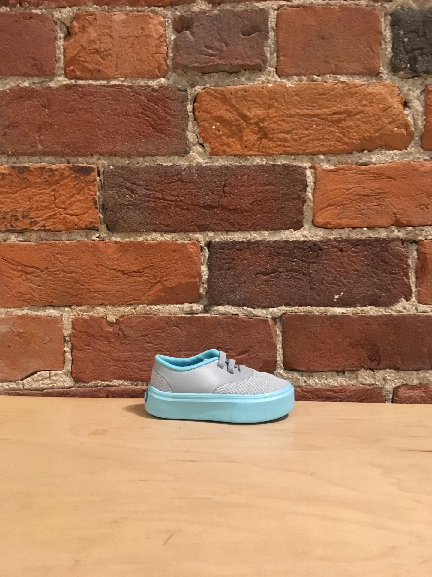 PEOPLE FOOTWEAR - THE STANLEY CHILD IN SKYLINE GREY/BAMBORA BLUE