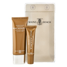 MAINE BEACH ORGANIC MACADAMIA ESSENTIALS DUO PACK