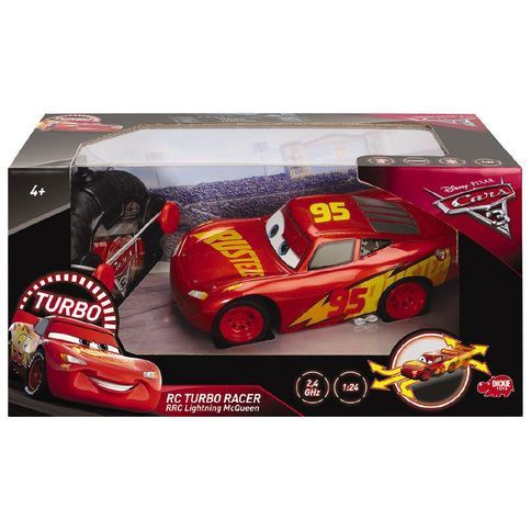 CARS RC TURBO RACER MCQUEEN RED