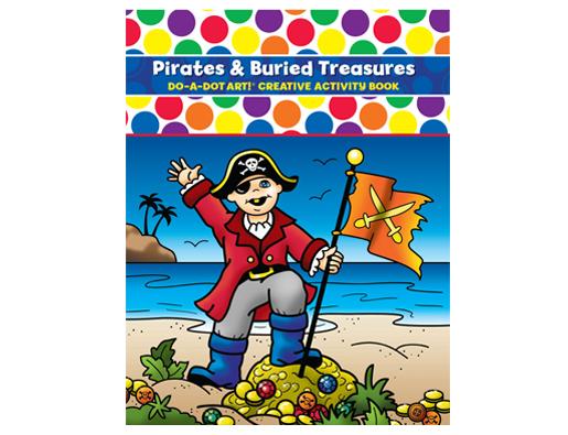X DAD 379 PIRATES & BURIED TREASURE BOOK