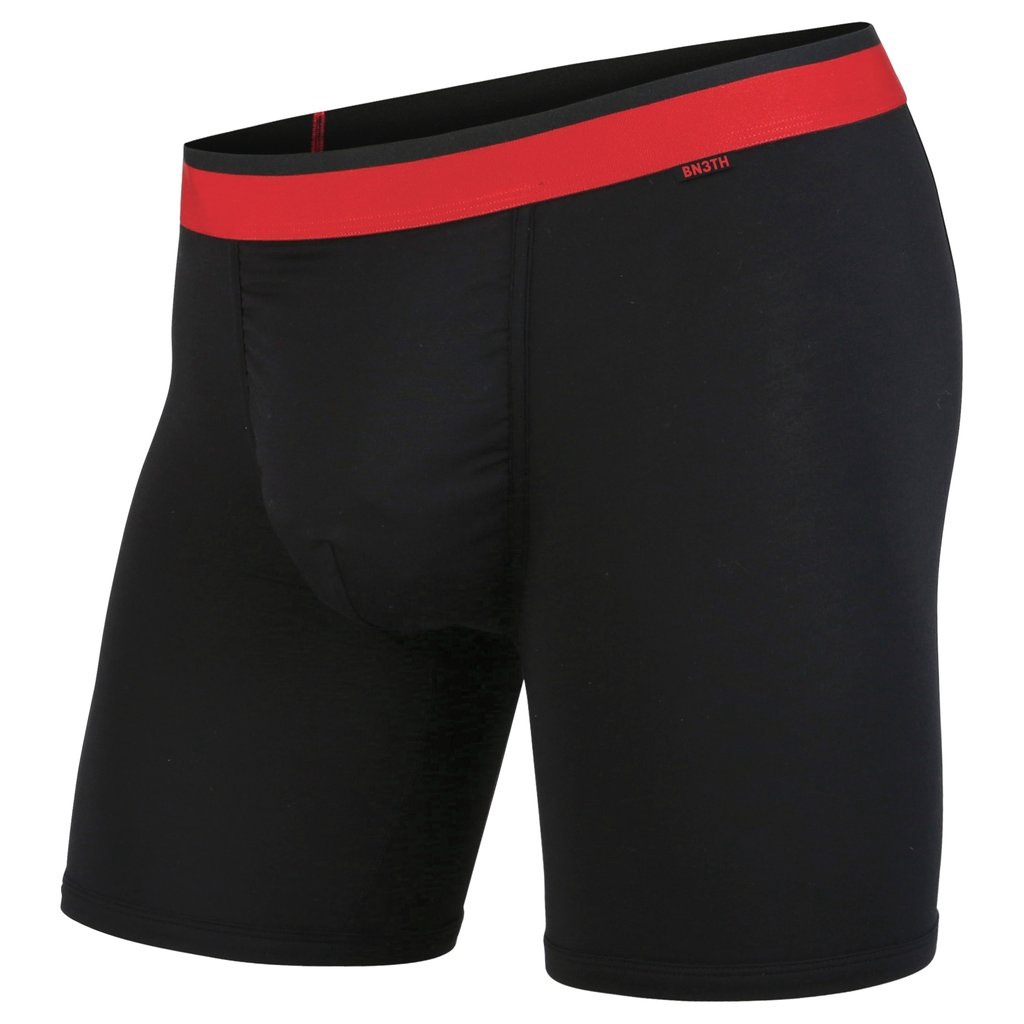 BN3TH - CLASSIC BOXER BRIEF IN BLACK/RED
