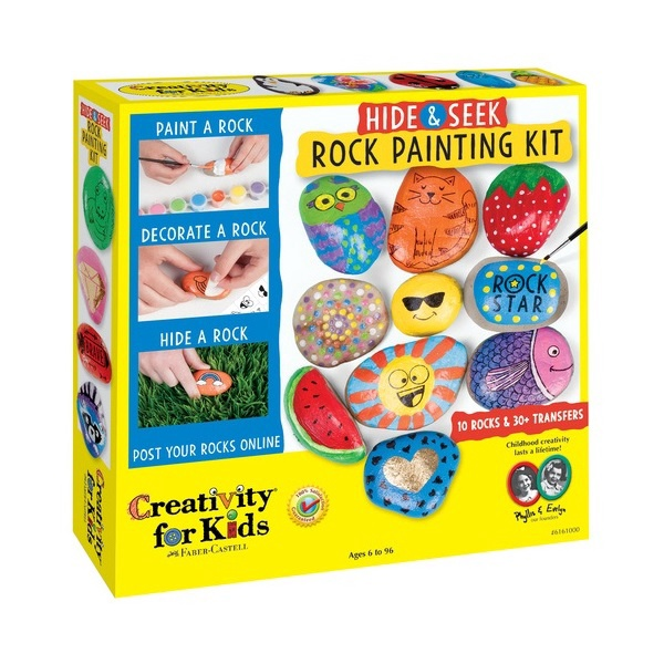 HIDE & SEEK ROCK PAINTING