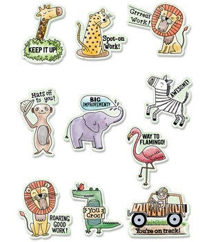 CTP 2159 SAFARI FRIENDS  REWARD STICKERS
