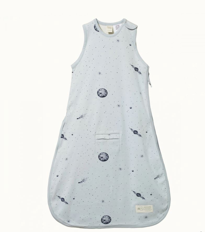 ORGANIC COTTON & MERINO SLEEPING BAG - GALAXY