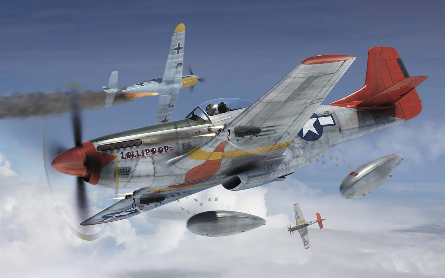 Airfix #A01004 1/72 North American P-51D Mustang