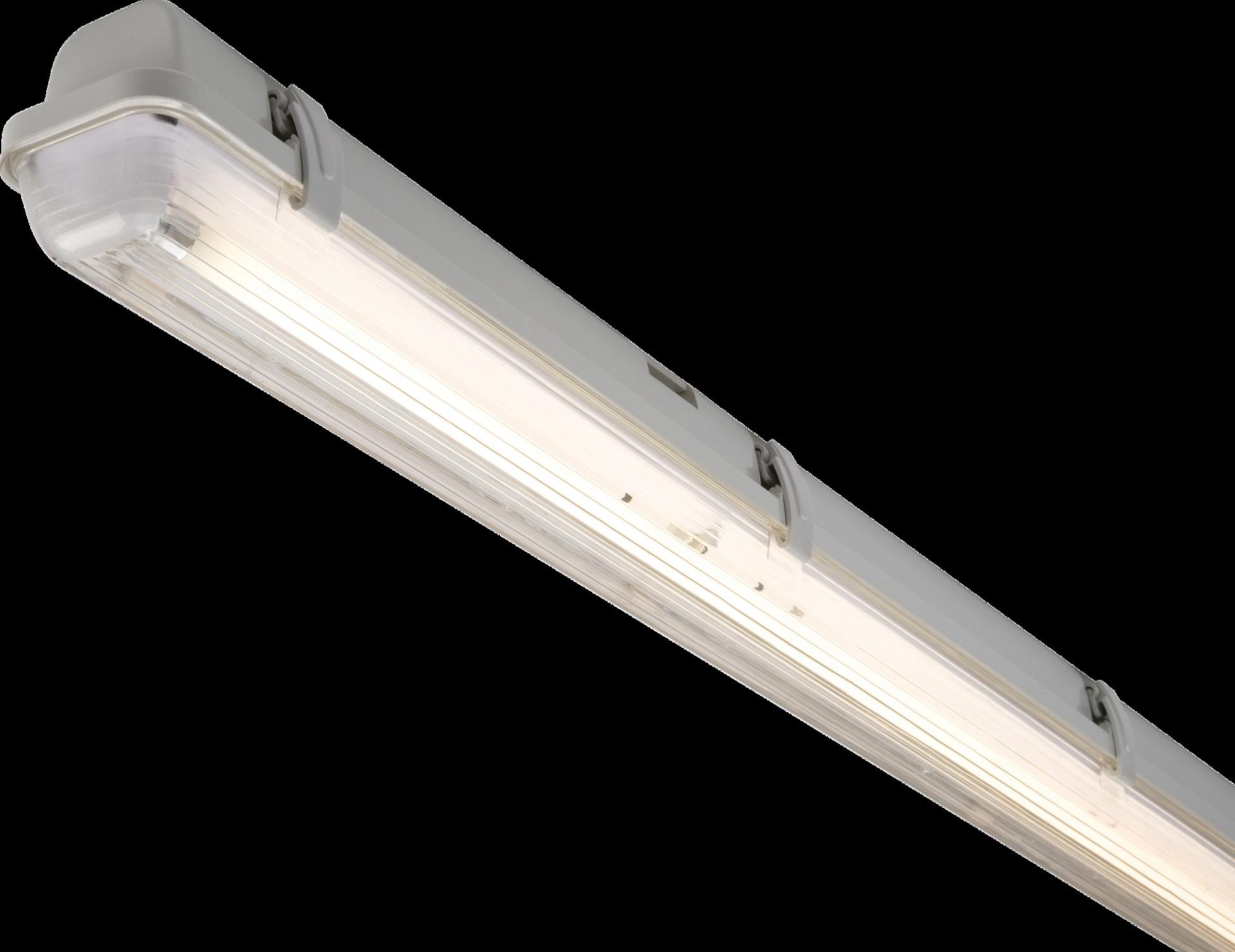 230V IP65 1X14W T5 HF Single Non-Corrosive Fluorescent Fitting 2ft