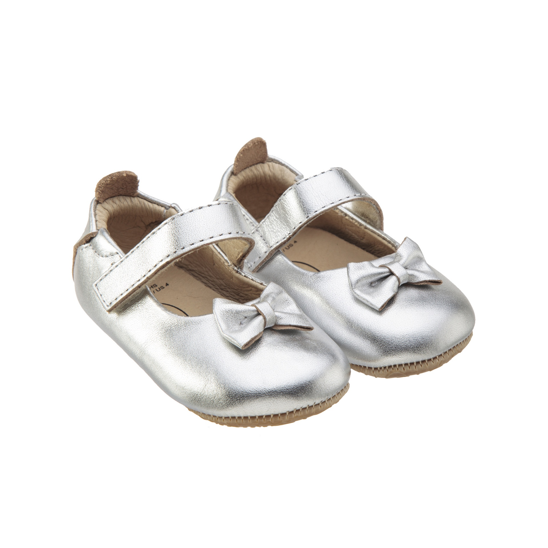 Old Soles Dream Shoe Silver Rubber Sole
