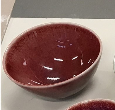 Medium Bowl - Copper Red