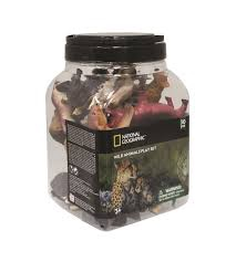 NATIONAL GEOGRAPHIC WILD ANIMALS PLAYSET