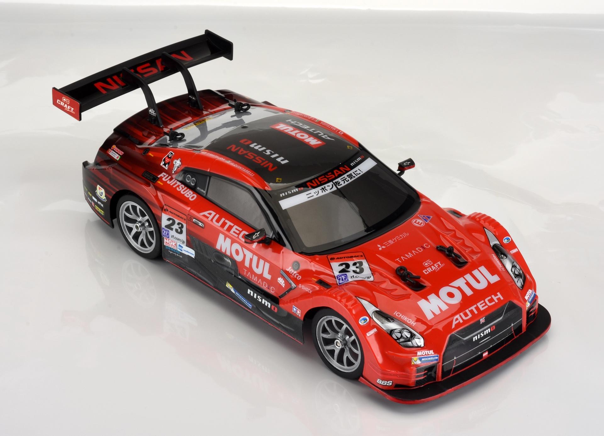 1:16 R/C NISSAN GT-R (R35) R&D SPORT RED