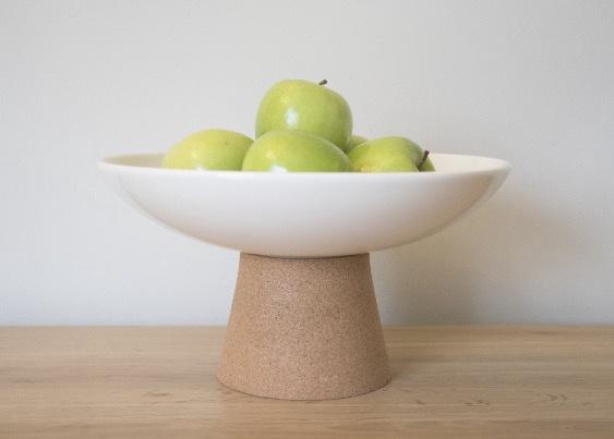 Liga Earthware Fruit Bowl - Cream