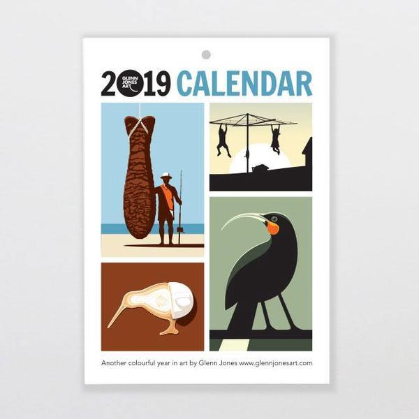 Glenn Jones Calendar