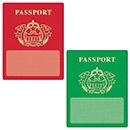 T 10980 PASSPORTS CUTOUTS