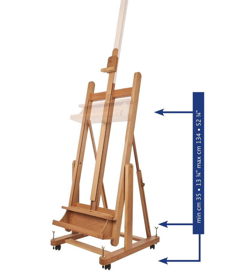Mabef Easel M18- Convertible Studio Easel