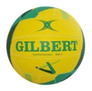 Gilbert Supporter Ball - Diamonds: Yellow & Green (size 5