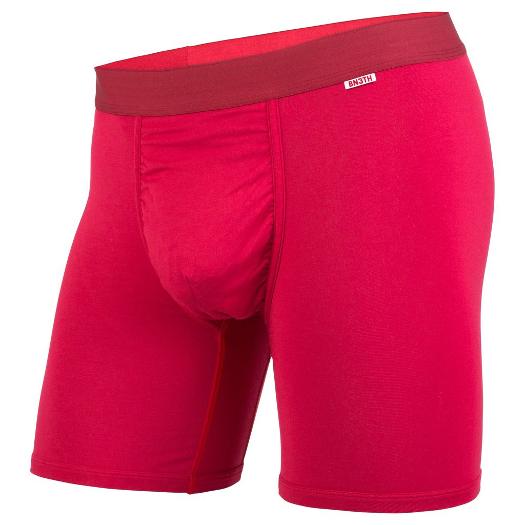 BN3TH - CLASSIC BOXER BRIEF IN CRIMSON