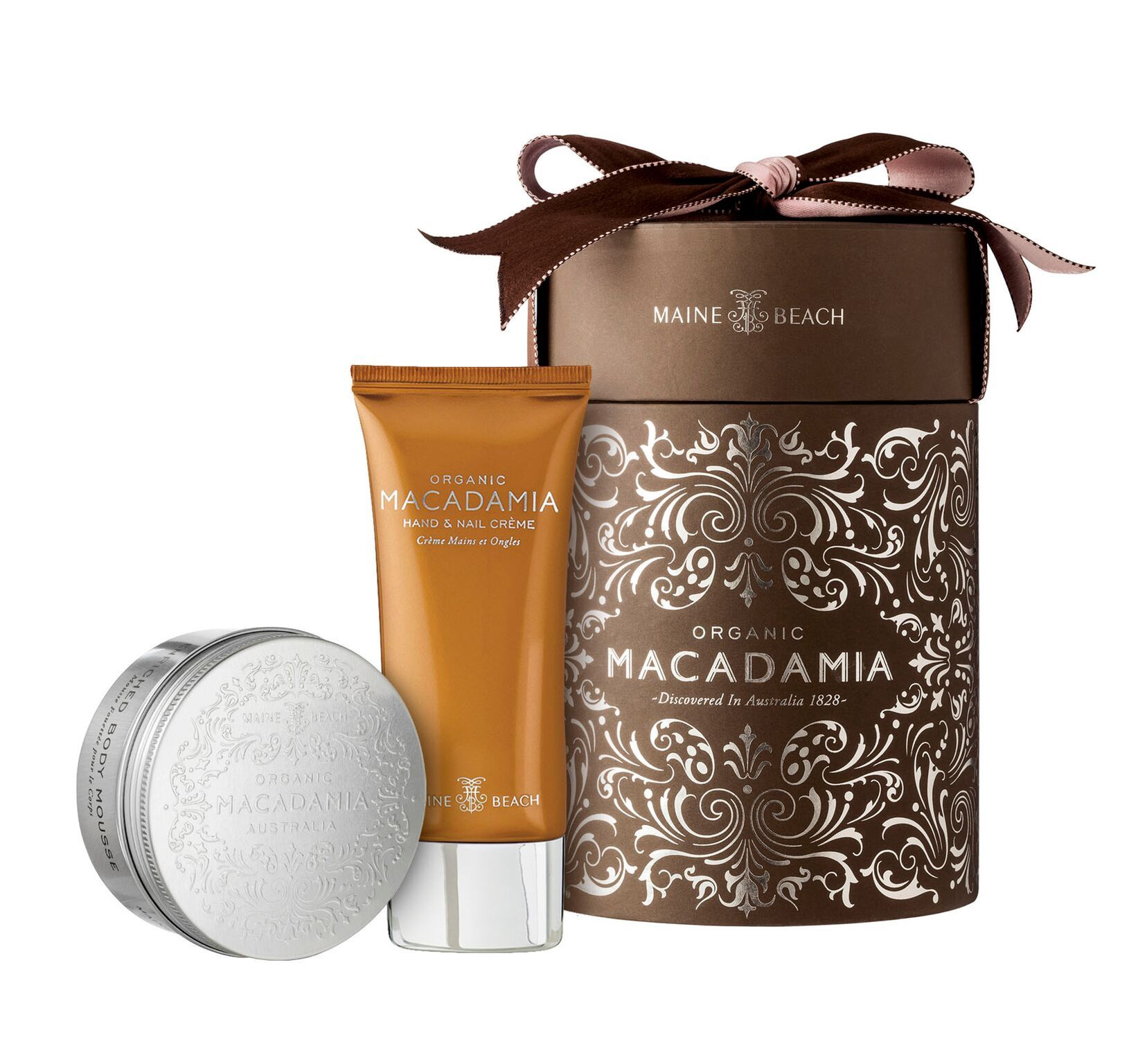 MAINE BEACH ORGANIC MACADAMIA DUO GIFT BOX