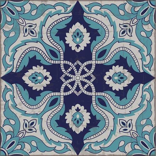 Turquesa  Blue Rug