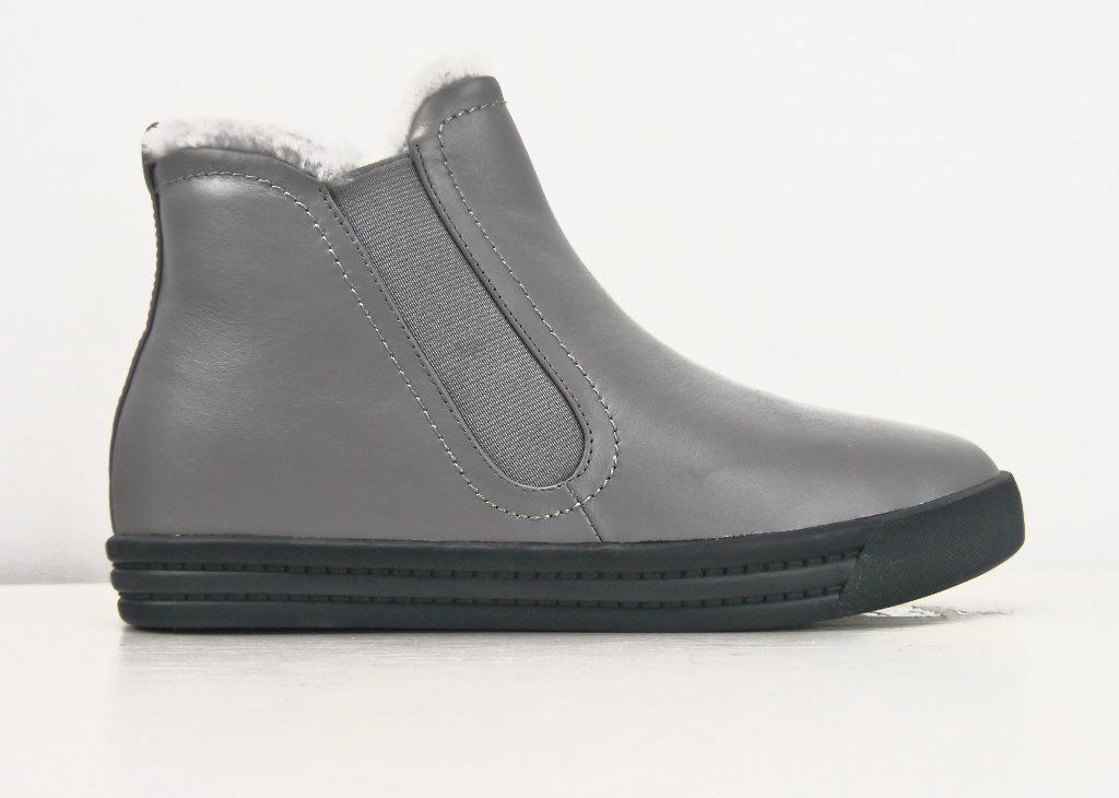 Cobbler & Concept Sheepskin Short Boot