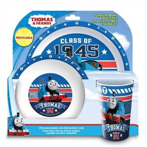 THOMAS THE TANK TUMBLER OWL & PLATE SET