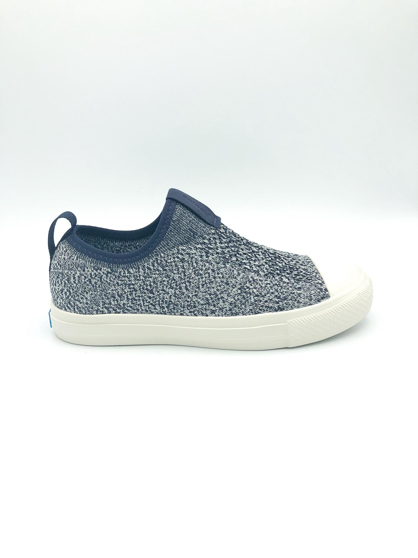 PEOPLE FOOTWEAR - THE PHILLIPS JUNIOR KNIT IN PADDINGTON BLUE/YETI WHITE