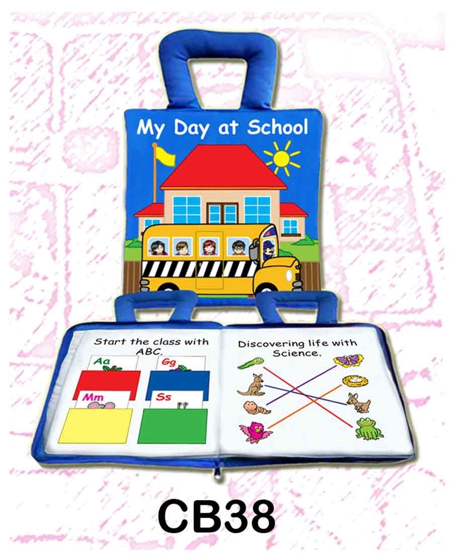 My Day at School Soft Play Book