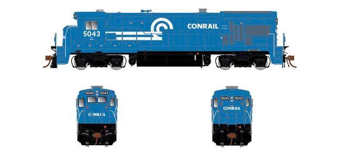 Rapido Trains #RPI18008 GE B36-7 DC Conrail