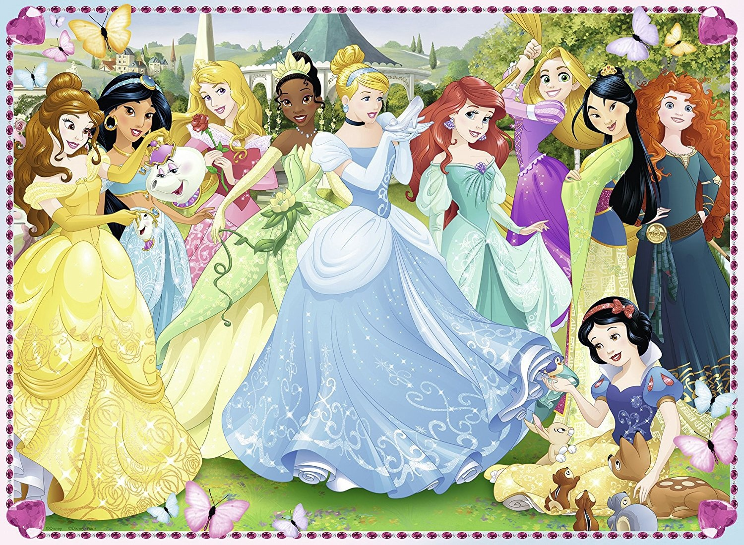 DISNEY PRINCESS 100 PCS