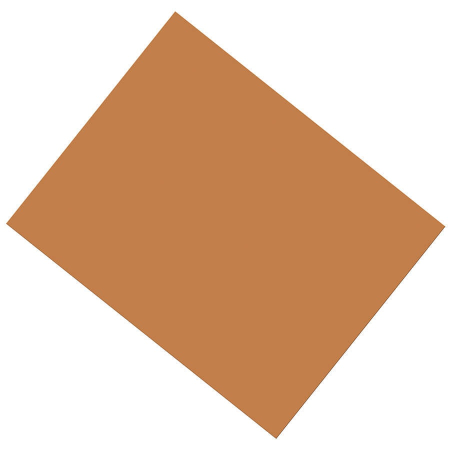X PA 5393-1 COATED POSTER BOARD BROWN
