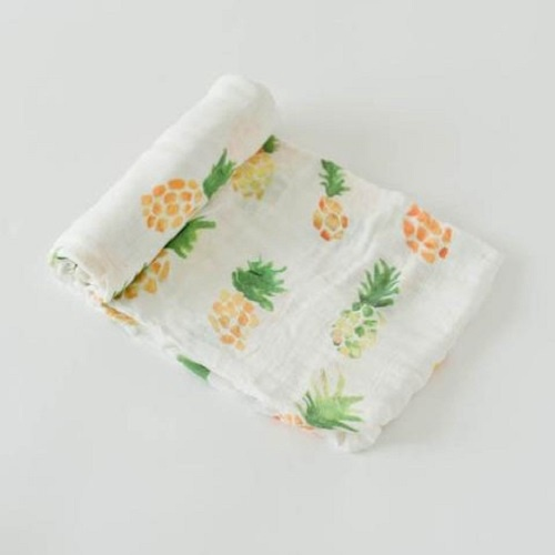 Deluxe Muslin Swaddle | Pineapple