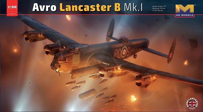 HK Models #01E010 1/32 ARVO Lancaster B Mk1