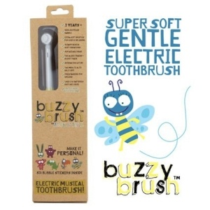 BUZZY BRUSH MUSICAL/ELECTRIC TOOTHBRUSH