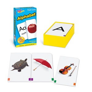 SO T 53012 ALPHABET FLASH CARDS