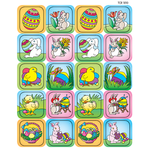 TCR 1810 EASTER STICKERS