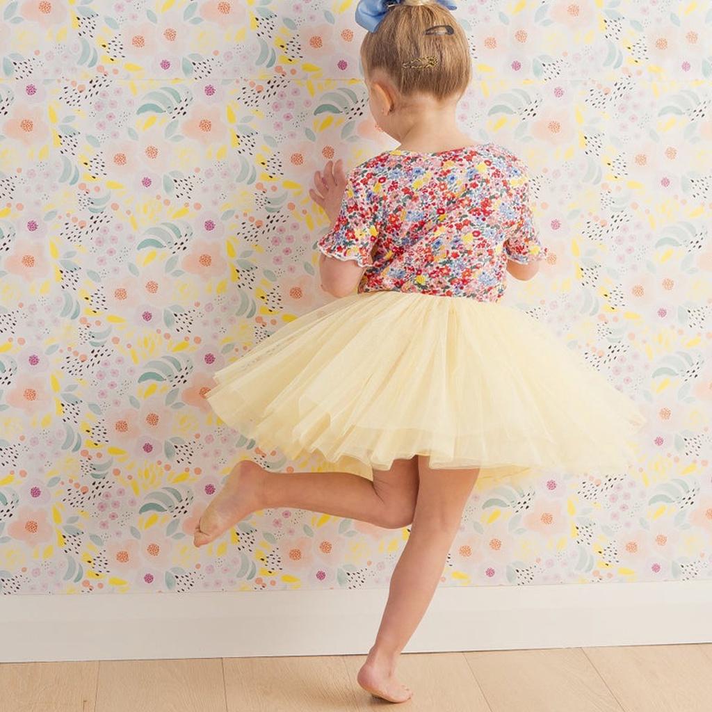Yellow Tulle Skirt