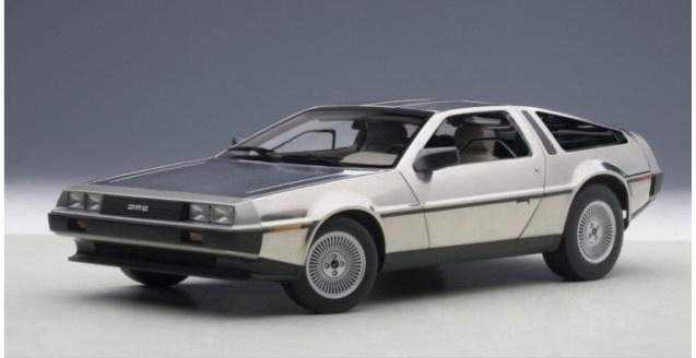 AutoArt #79916 1/18 DeLorean DMC-12