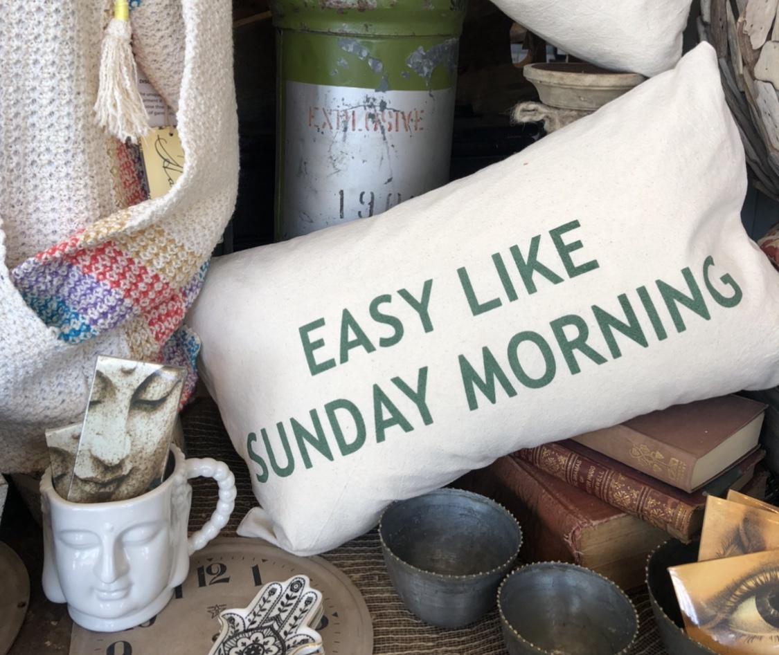 In Easy like Sunday Morning PIllow
