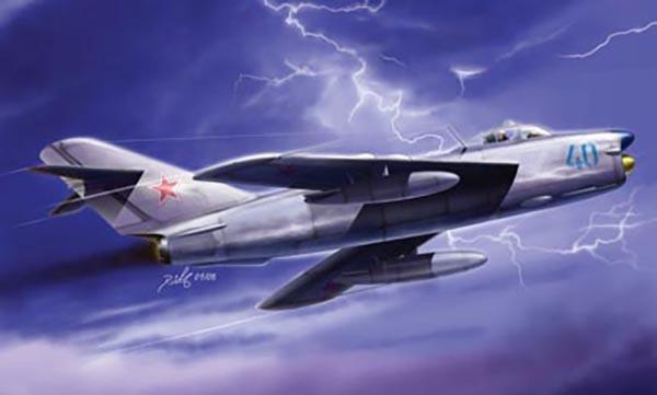 Hobby Boss #80336 1/48 MiG-17PF Fresco D